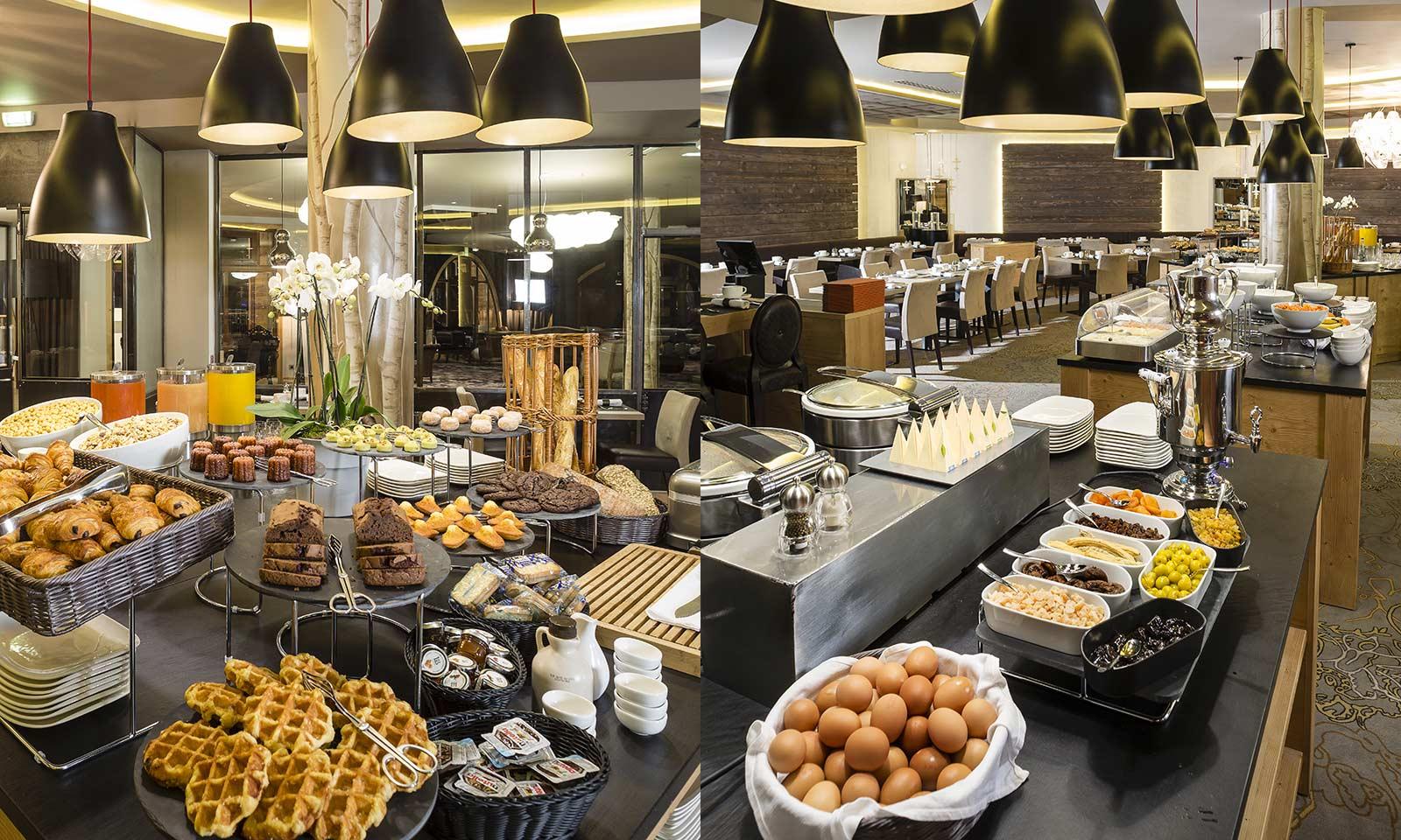 Grand Hotel Reykjavik Breakfast