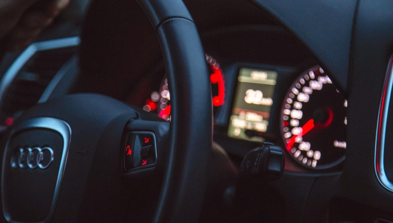 Light Car Inside Black