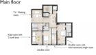 Lech Chalet Mimi Main Floor Plan