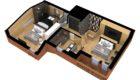 Courchevel Chalet Overview Floorplan 2