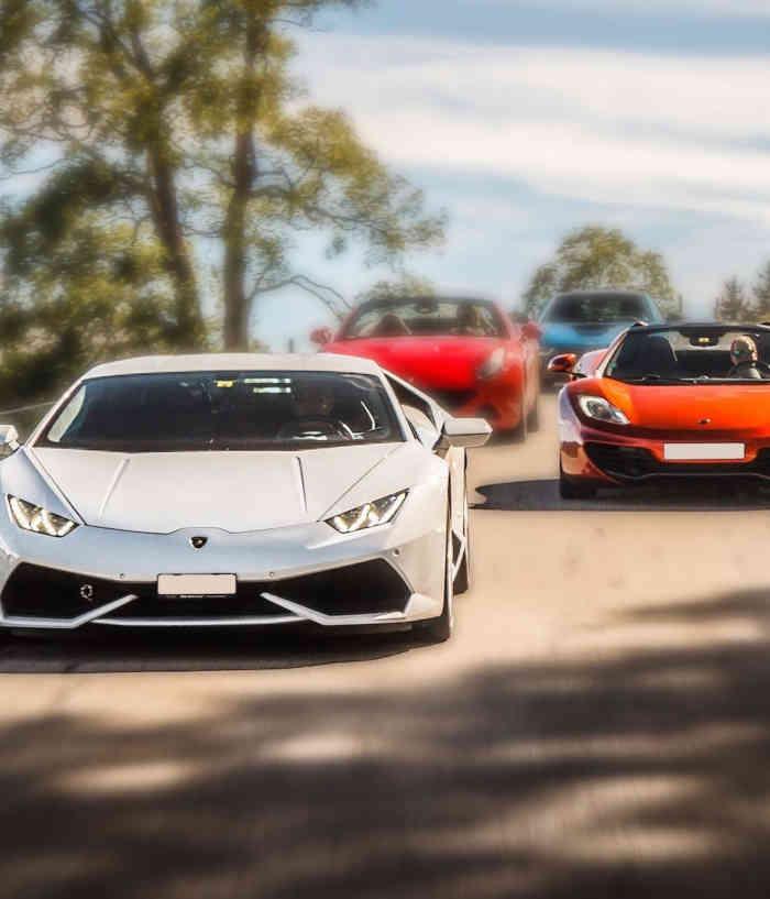 a Luxury super-car