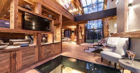 Chalet Joux Plane  Luxury Accommodation