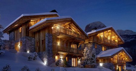 Chalet Pure Black Crystal Luxury Accommodation