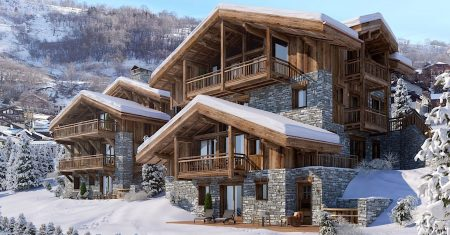Chalet Pure White Crystal Luxury Accommodation