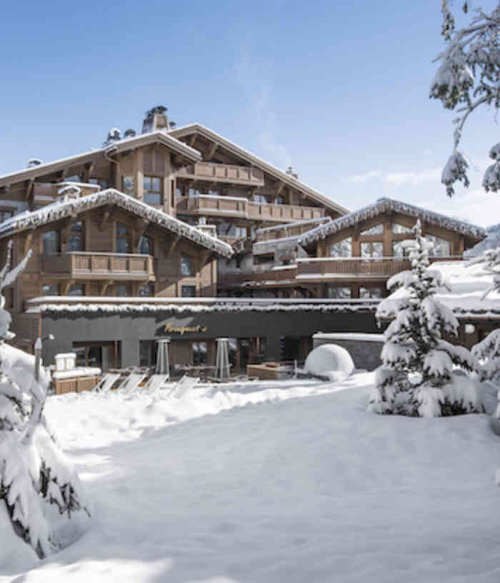 Courchevel Hotel Barriere Les Neiges 2