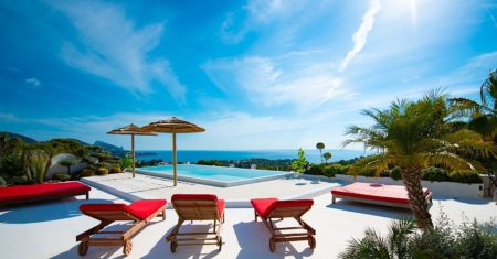 Villa Caiko - Sant Joseph Luxury Accommodation