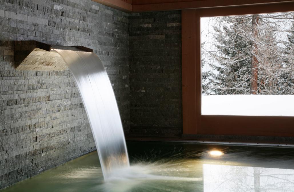 Tivoli Lodge In Davos Switzerland White Blancmange