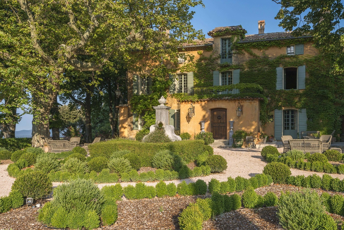 Hotel domaine de la baume in tourtour provence france for Provence home