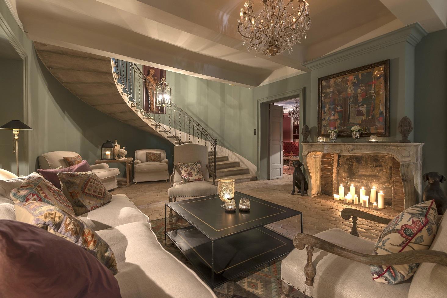 Hotel domaine de la baume in tourtour provence france white blancmange - Hotel bb salon de provence ...