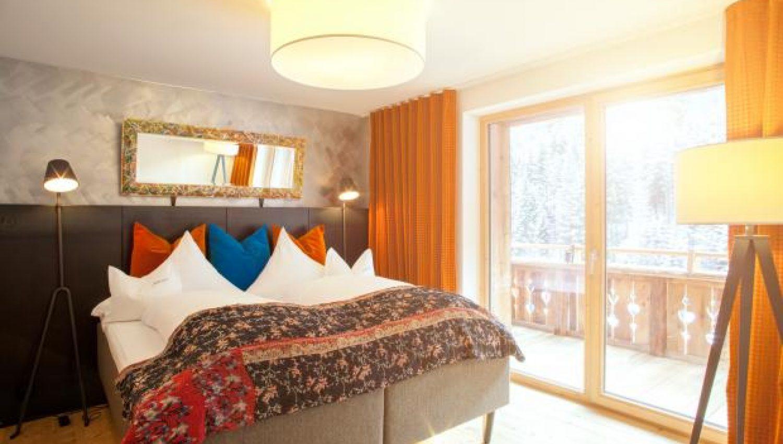 Hotel tyrol in st anton, austria   white blancmange