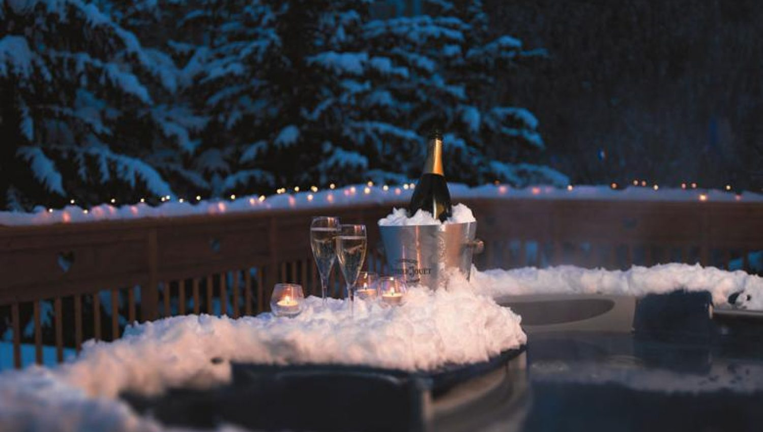 Chalet Le Lapin Blanc Meribel meribel luxury ski chalets and resort information - white