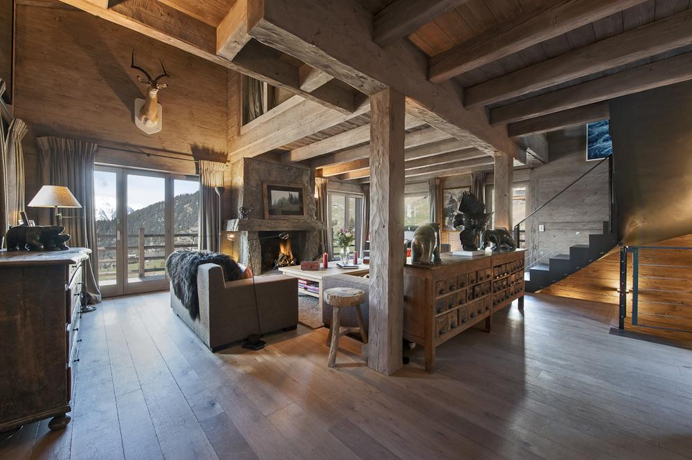 Chalet Bouquetin In Verbier Switzerland White Blancmange