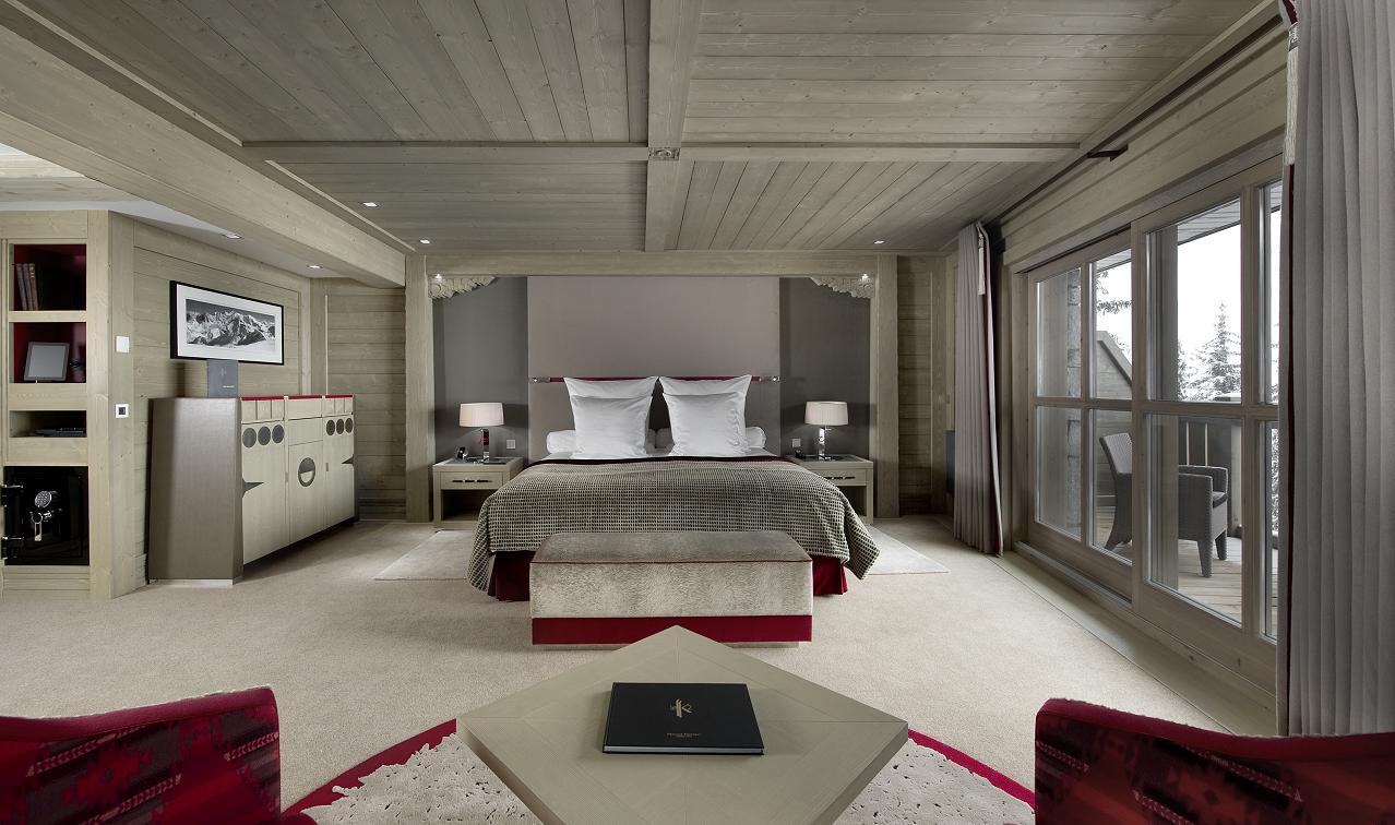 Hotel K2 in Courchevel 1850, France - White Blancmange