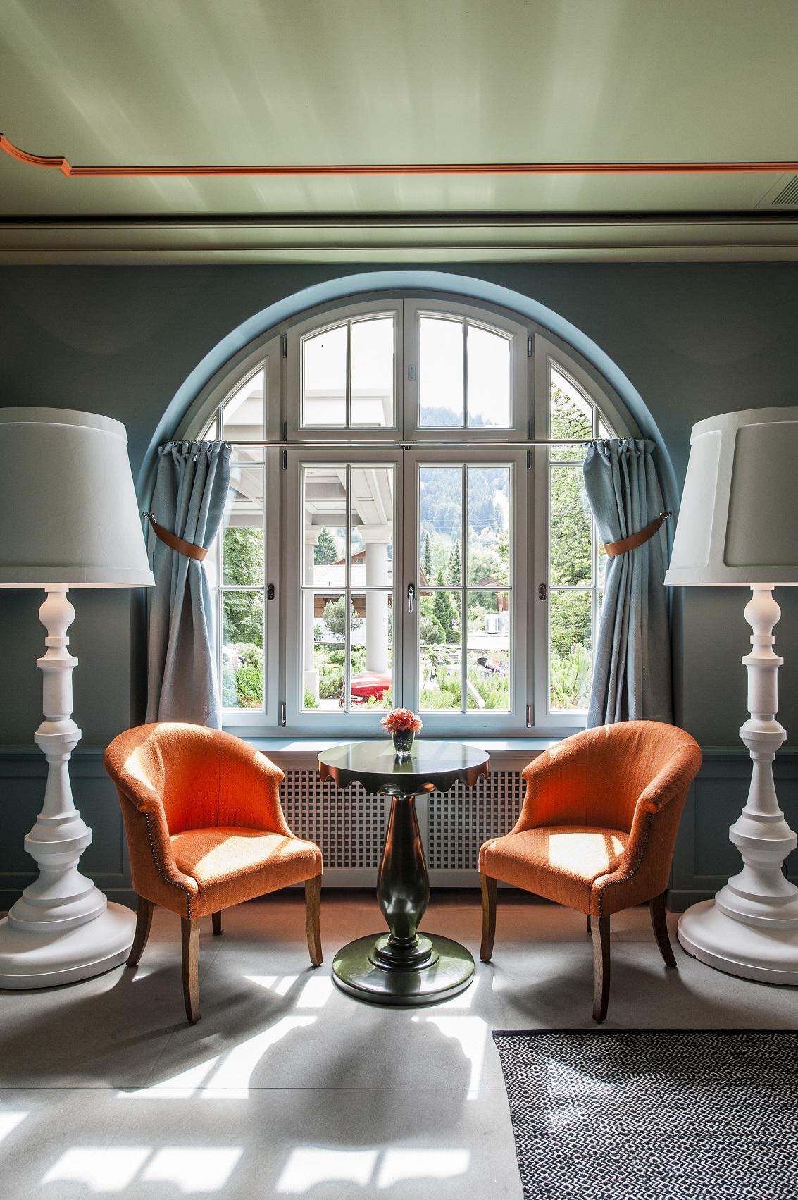 Hotel Le Grand Bellevue In Gstaad, Switzerland