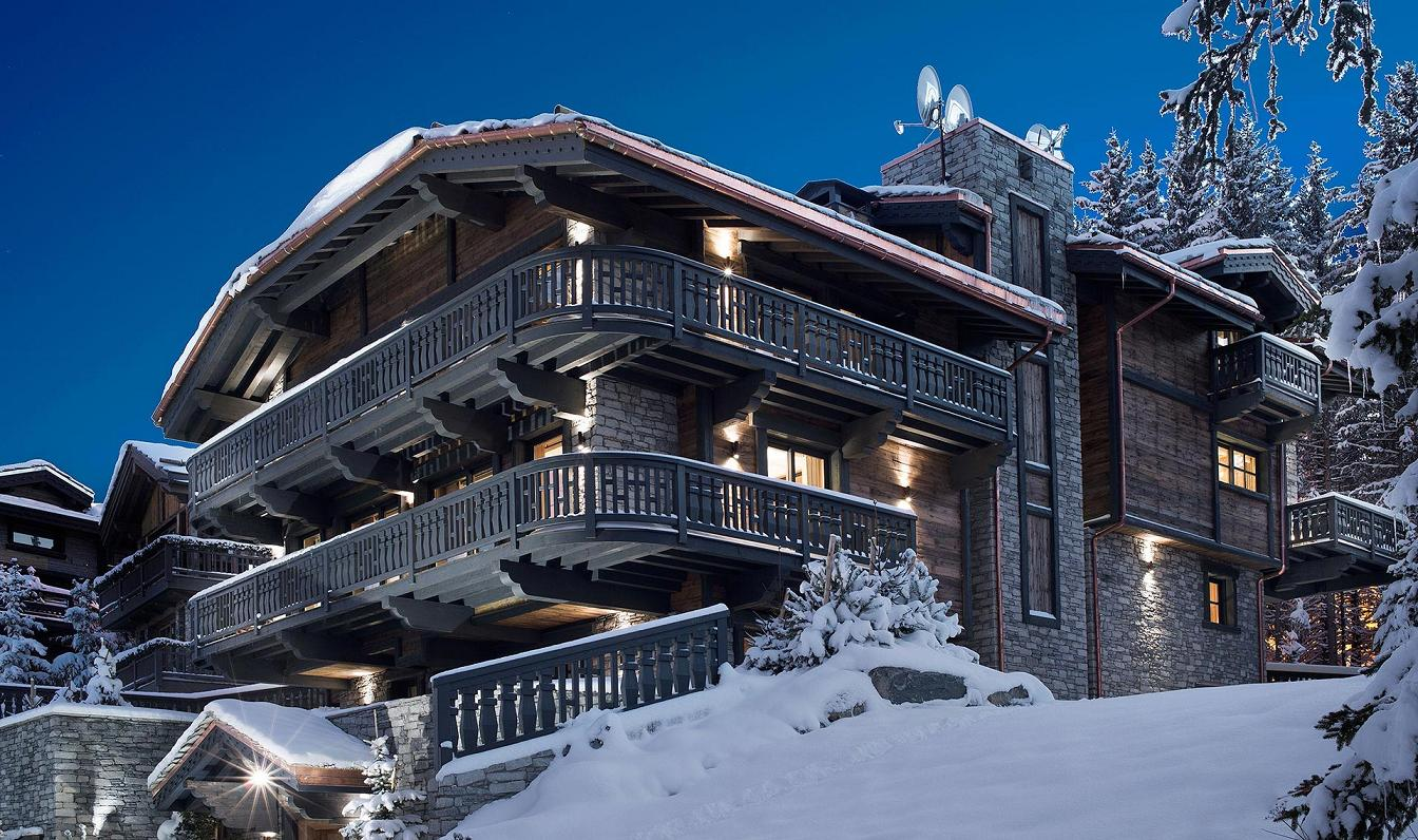 chalet edelweiss in courchevel 1850  france